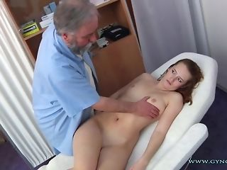 Long-legged Ginger Czech nymph Comes To older Paunchy obgyn quay freesex