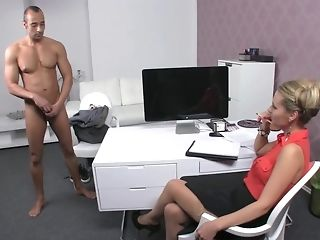 Czech gal chef makes Greek boy go thru beautiful people audition best porn