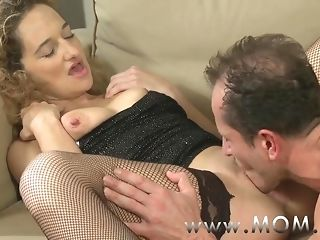 Mommy nasty crumbly haired cougar getting pummeled more than the phrase porn video