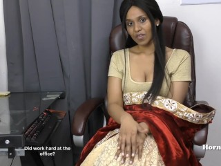 Indian Aunty seducing her cousin get the drift notification in Tamil sex videotape