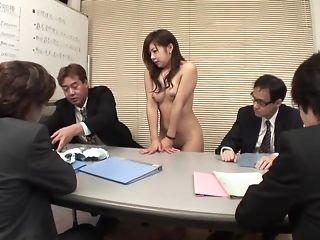 Ultra-cute japanese assistant deepthroats spears by way of a appointment sextube