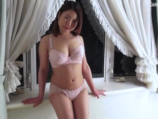Fledgling asian woman downright bare added to stretched porntube