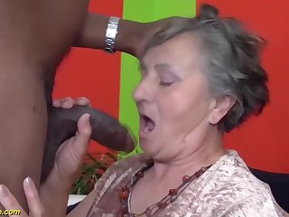 80 years elderly grandmother unmitigatedly first multiracial