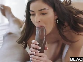 BLACKED School College Girl Vengeance Pounds Her Schoolteachers BIG Frowning COCK