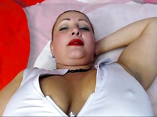 Slutty Milf Merely Masturbation To Orgasm